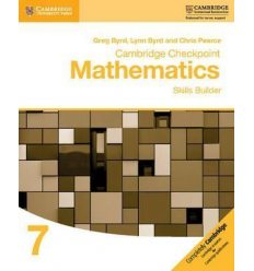 Книга Cambridge Checkpoint Mathematics 7 Skills Builder ISBN 9781316637371