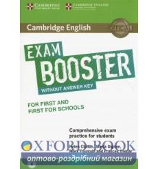 Книга Exam Booster for First and First for Schools without Answer Key with Audio ISBN 9781316641750 купить Киев Украина
