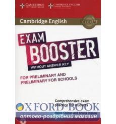 Книга Exam Booster for Preliminary and Preliminary for Schools without Answer Key with Audio Chilton, H ISBN 9781316641781 ку...