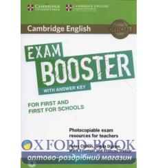 Книга Exam Booster for First and First for Schools with Answer Key with Audio for Tearchers Chilton, H ISBN 9781316648438 куп...