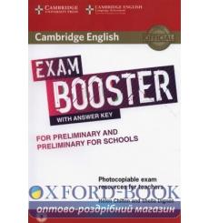 Exam Booster for Preliminary and Preliminary for Schools with Answer Key with Audio for Teachers Chilton, H ISBN № 9781316648...