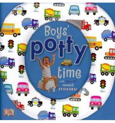 Книга Boys Potty Time Dorling Kindersley ISBN 9781405352550