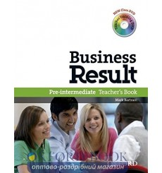 Business Result Pre-Intermediate Teacher's Book & DVD Pack