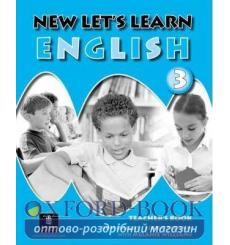 Книга для учителя Lets Learn English New 3 Teachers book ISBN 9781405802710 купить Киев Украина