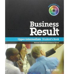 Business Result Upper-Intermediate Student's Book & DVD-ROM Pack