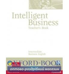 Книга для учителя Intelligent Business Interm Teachers book+CD ISBN 9781405843409 купить Киев Украина