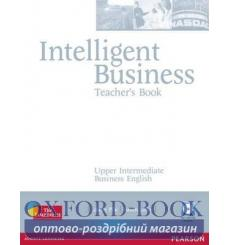 Книга для учителя Intelligent Business Upper-Interm Teachers book+CD ISBN 9781405843416 купить Киев Украина