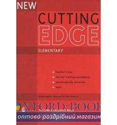 Книга для учителя Cutting Edge New Elem teachers book 9781405843485 купить Киев Украина