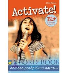 Книга Activate! B1+ Grammar and Vocabulary ISBN 9781405851114 купить Киев Украина
