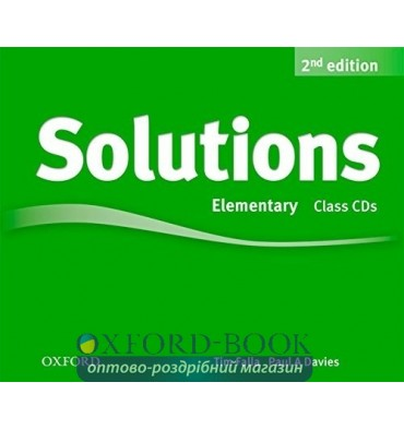 Solutions Elementary: Class Audio CDs (3)
