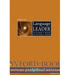 Книга для учителя Language Leader Elementary Teachers book+TestMaster CD-Rom 9781405852869 купить Киев Украина