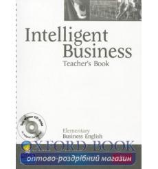 Книга для учителя Intelligent Business Elementary Teachers book+CD ISBN 9781405881425 купить Киев Украина