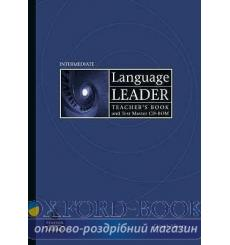 Книга для учителя Language Leader Interm Teachers book+CD 9781405885348 купить Киев Украина
