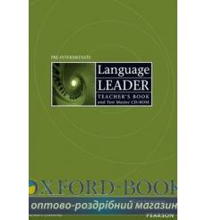 Книга для учителя Language Leader Pre-Intermediate teachers book with Test Master CD-ROM 9781405885355 купить Киев Украина