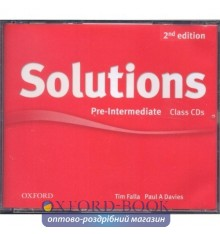 Solutions Pre-Intermediate Second Edition: Class Audio CDs (3)