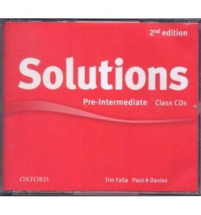 Solutions Pre-Intermediate: Class Audio CDs (3)