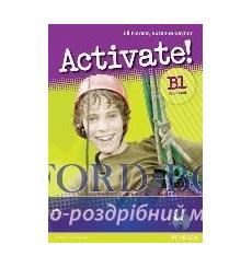 Тетрадь Activate b1 workbook+iTest Multi-Rom-key 9781408236802 купить Киев Украина