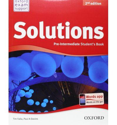 Solutions Pre-Intermediate: Student's Book
