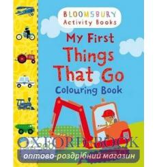 Книга My First Things That Go Colouring Book  9781408855188 купить Киев Украина