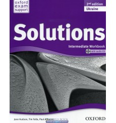 Solutions Intermediate: Workbook with CD-ROM (Ukrainian Edition)
