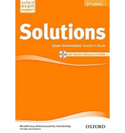 Solutions Upper-Intermediate: Teacher's Book with CD-ROM