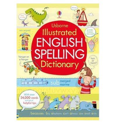 Книга Illustrated English Spelling Dictionary ISBN 9781409535188