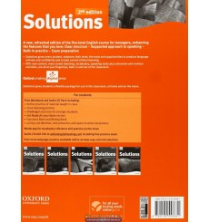 Solutions Upper-Intermediate: Workbook with CD-ROM