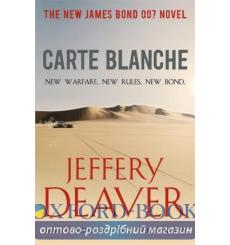 Книга Carte Blanche. The New James Bond 007 Novel Deaver, J. ISBN 9781444716450 купить Киев Украина