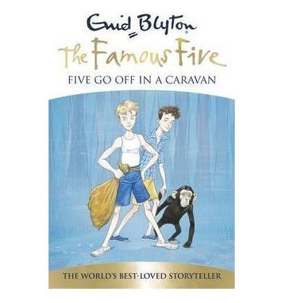 Книга Five Go Off in a Caravan ISBN 9781444908695