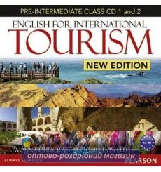 Диск English for International Tourism New Pre-Intermediate Class CD 9781447903598 купить Киев Украина