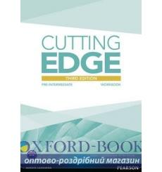 Тетрадь Cutting Edge Pre-Intermediate workbook-Key 9781447906643 купить Киев Украина