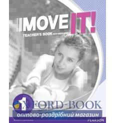 Книга для учителя Move It! 1 Teachers book+CD 9781447983347 купить Киев Украина