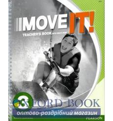 Книга для учителя Move It! 3 Teachers book+CD 9781447983408 купить Киев Украина
