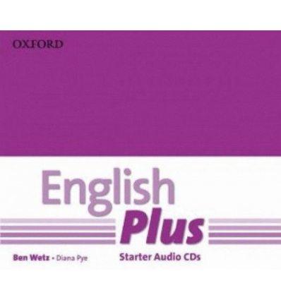 Диск English Plus Starter Class Audio CDs (2) 9780194749138 купить Киев Украина