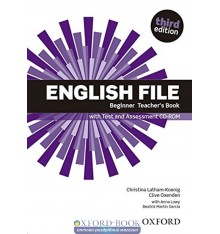 Книга для учителя English File 3rd Edition Beginner teachers book with Test and Assessment CD-ROM ISBN 9780194501507