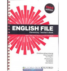 English File Elementary teachers book with Test and Assessment CD-ROM  3rd Edition 9780194598743 купить Киев Украина
