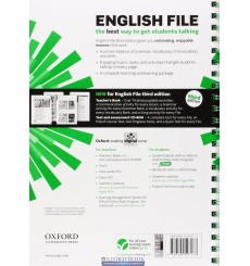 English File Intermediate teachers book with Test and Assessment CD-ROM  3rd Edition 9780194597173 купить Киев Украина