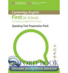 Книга Speaking Test preparation Pack for First for Schools with DVD 9781907870040 купить Киев Украина