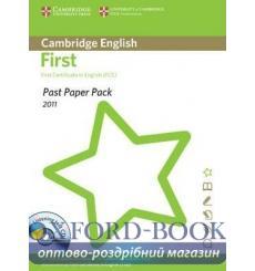Past Paper PacksCambridge English: First 2011 (FCE) Past Paper Pack with CD 9781907870309 купить Киев Украина