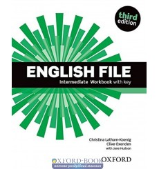 English File Intermediate: Workbook with Key