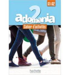 Adomania 2 Cahier + CD audio ISBN 9782014015256