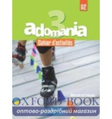 Adomania 3 Cahier + CD audio ISBN 9782014015430
