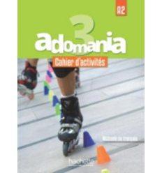 Adomania 3 Cahier + CD audio ISBN 9782014015430