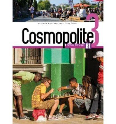 Книга Cosmopolite 3 Livre + DVD-ROM ISBN 9782015135472