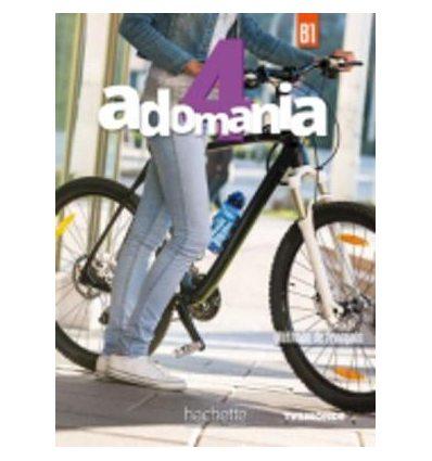 Adomania 4 Livre + DVD-ROM ISBN 9782016252710