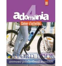 Adomania 4 Cahier + CD audio ISBN 9782016252727