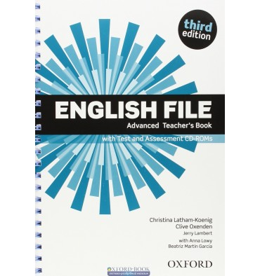 English File Advanced teachers book with Test and Assessment CD-ROM  3rd Edition 9780194502061 купить Киев Украина