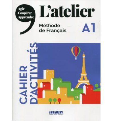 Книга Latelier A1 Cahier ISBN 9782278092291