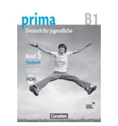 Тетрадь для тестов Prima-Deutsch fur Jugendliche 5 (B1) Testheft ISBN 9783060207190