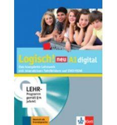 Книга Logisch neu a1 Logisch digital mit interaktiven Tafelbildern 9783126052108